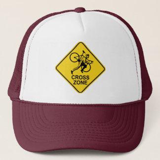 Cyclocrossの地帯の交通標識 キャップ