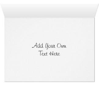 Cyiria ISOの黒のポートレート カード
