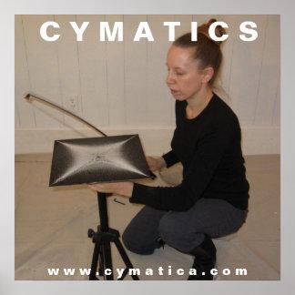 CYMATICSの芸術家ポスター ポスター