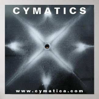 CYMATICSのSALT I ポスター
