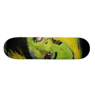 「Cypressの泥地のわに女の子」のスケートボード スケボーデッキ