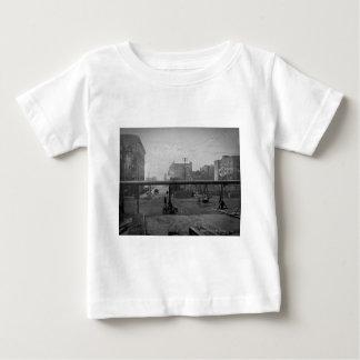 Cypressの道および138th通りニューヨークシティ ベビーTシャツ