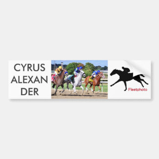 Cyrusアレキサンダー、Mr.Jordan及びRes Judicata バンパーステッカー