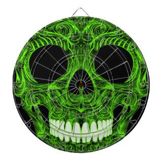 Dのすばらしい砂糖Skull Dia De Los Muertos Day ダーツボード