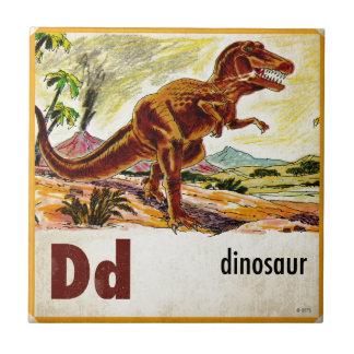 Dは恐竜のためです タイル