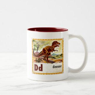 Dは恐竜のためです ツートーンマグカップ