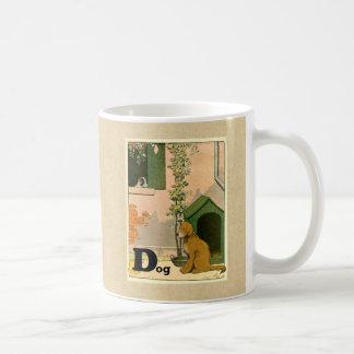 Dは犬のため-ゴールデン・リトリーバーおよびテリアです コーヒーマグカップ