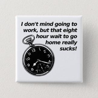 _d時間制の待ち時間おもしろいなボタンのバッジ 缶バッジ