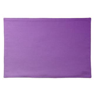 D2線形勾配-薄紫への暗いバイオレット ランチョンマット