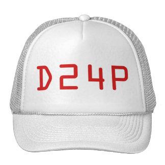 D24Pの公式のサイドラインの帽子 メッシュ帽子