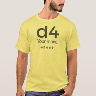 D4チェスのワイシャツ: シリーズ1 Tシャツ