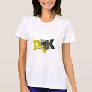 D4Kの女性Dri適合 Tシャツ