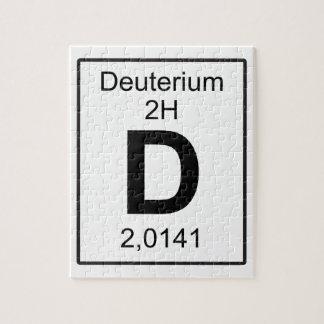 D -重水素 ジグソーパズル