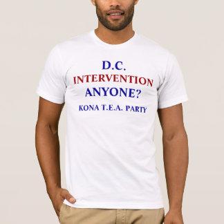 D.C. 介在だれでもか。 Tシャツ
