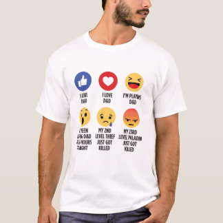 D&D Emojis Tシャツ