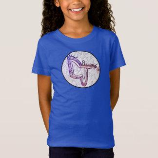 D&Jの青い絞り染めのTシャツ Tシャツ