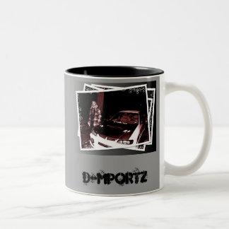 D-MpOrTz Zube CuPz ツートーンマグカップ