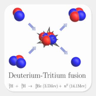 D-Tの融合 スクエアシール