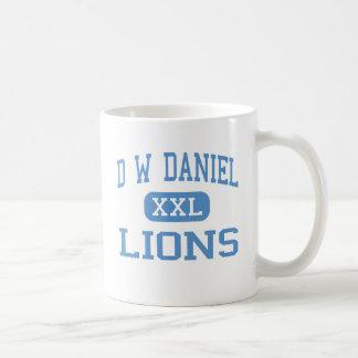 D Wダニエル-ライオン-先輩-本部 コーヒーマグカップ