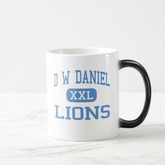 D Wダニエル-ライオン-先輩-本部 モーフィングマグカップ