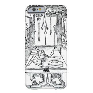 「Daからの手術台そして外科手術用の器具、 Barely There iPhone 6 ケース