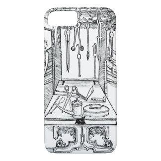 「Daからの手術台そして外科手術用の器具、 iPhone 8/7ケース