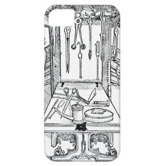 「Daからの手術台そして外科手術用の器具、 iPhone SE/5/5s ケース