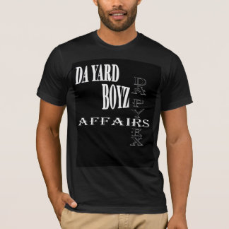 DaのヤードのBoyzの黒人男性T Tシャツ
