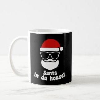 Daの家のサンタ コーヒーマグカップ