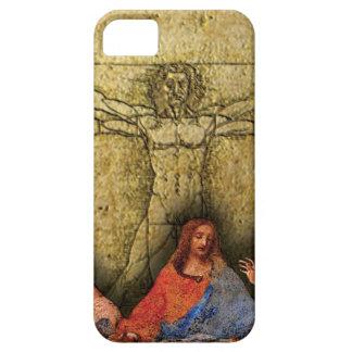 Da Vinciのコラージュ iPhone SE/5/5s ケース