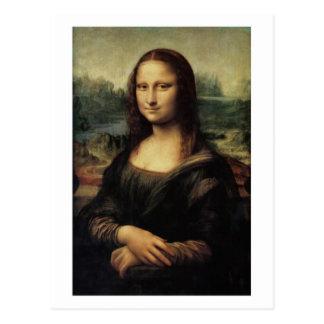 Da Vinciの郵便はがきによるモナ・リザのla Gioconda ポストカード