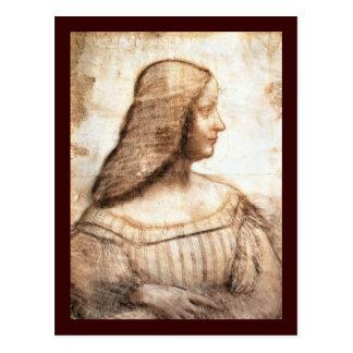 Da Vinciの郵便はがき ポストカード