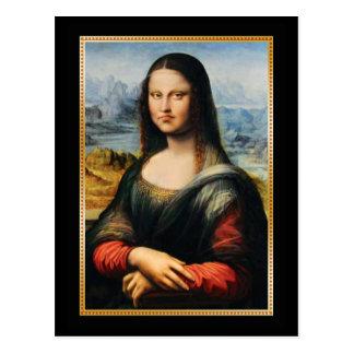 Da Vinciモナ・リザの気難しい顔 ポストカード