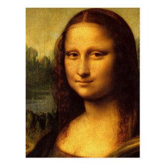 Da Vinciモナ・リザ ポストカード