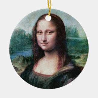 Da Vinci著モナ・リザのLaのJocondeのLa Gioconda セラミックオーナメント
