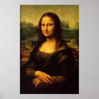 Da Vinci著モナ・リザ ポスター