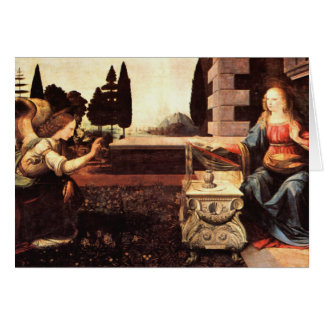 Da Vinci、レオナルド-告知 カード