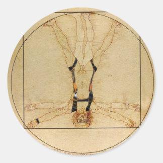 Da Vinci Skydiving ラウンドシール