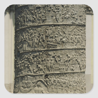 Daciansに対する戦い、詳細Trajan スクエアシール