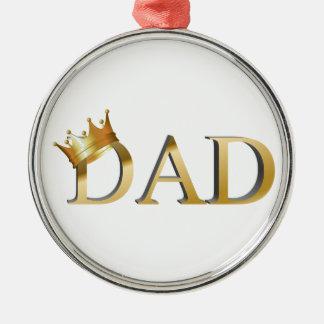 Dad王 メタルオーナメント