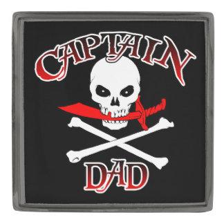 Dad (カットラス)大尉のラペルピン ガンメタル ラペルピン