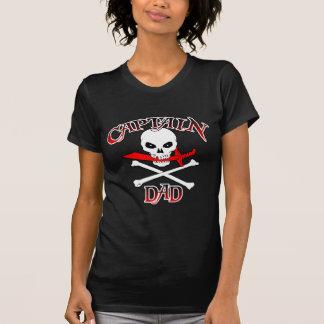 Dad (カットラス)大尉の暗いTシャツ Tシャツ