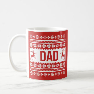 Dad Gift Ugly Christmas Mug コーヒーマグカップ