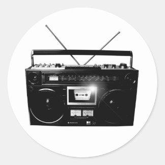 Dadawan Ghettoblasterのboombox 1980年 ラウンドシール