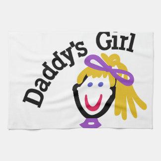 Daddysの女の子 キッチンタオル