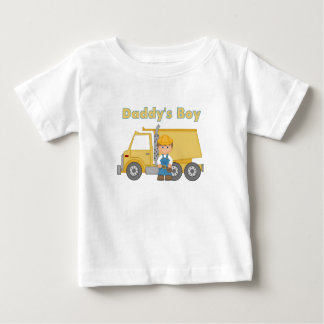 Daddysの男の子 ベビーTシャツ