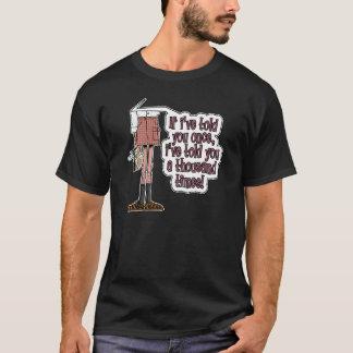 dadismのワイシャツ-一度言いました tシャツ