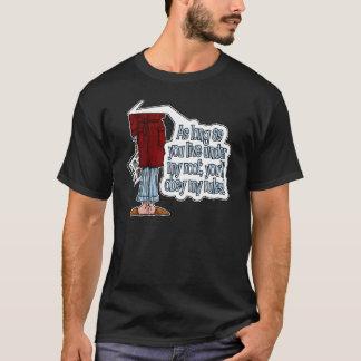 dadismのワイシャツ-私の屋根の下の… tシャツ