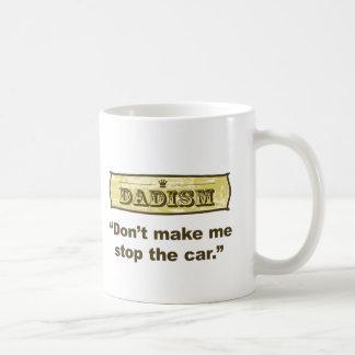 Dadism -私に車をストップ コーヒーマグカップ