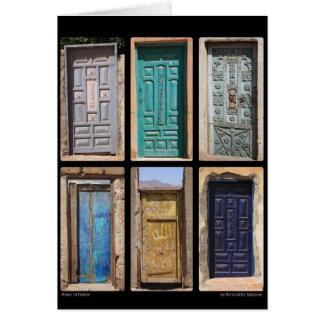 Dahabのドア カード